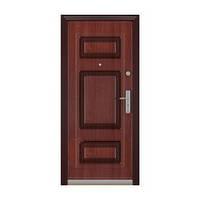 Дверь металлическая Саган МДФ 96 левая крона