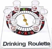 Настольная игра для взрослых Алко-Рулетка на стеклянной доске Duke