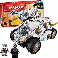 """Конструктор Ninja 10523 """"Внедорожник титинового ниндзя"""" от фирмы BELA."""