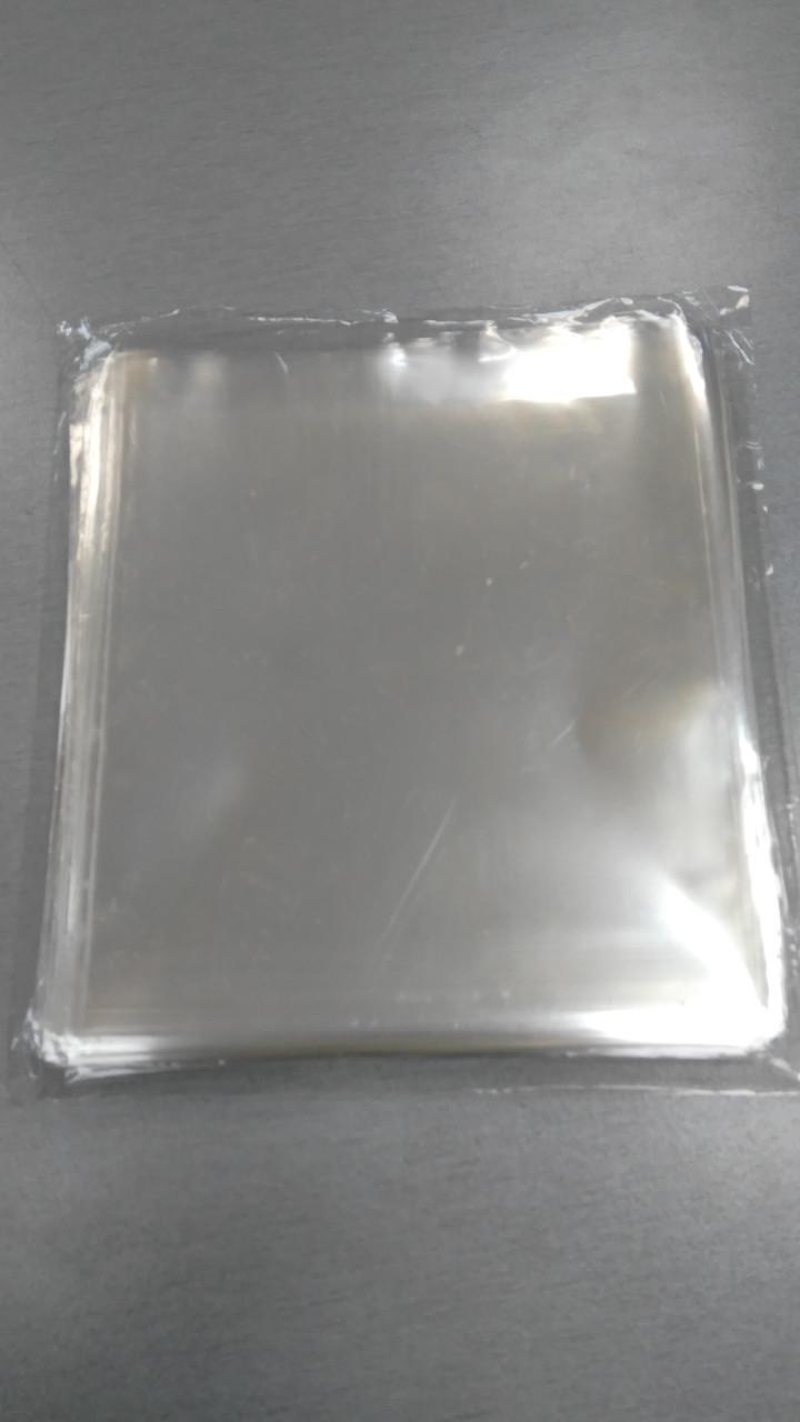 Пакеты прозрачные, 14x15 см.(100шт)(код 05297)