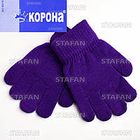 Перчатки с начёсом детские Korona B216-9-R