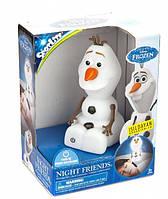 Игрушка-ночник Олаф Frozen Tech4Kids 40450