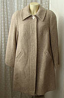 Пальто демисезонное шерсть качество! р.64 7320