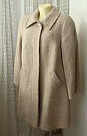 Пальто демисезонное шерсть качество! р.64 7320, фото 1