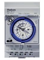 Аналоговое реле времени с резервным питанием суточное трёхмодульное на DIN-рейку Theben SUL 181 d th 1810011