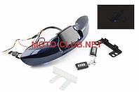 """Аудиосистема 2.0   mod:MT610   """"NEO""""   траверсная   (2"""", 2*5W синие,сигнализация, МР3/USB/SD, водонепрониц.)"""
