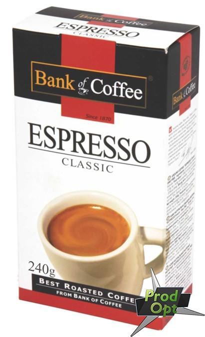Кава мелена Bank of Coffee Еспрессо Класік 240 г