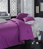 Турецкое постельное бельё евро размера Cotton Box Plain MOR CB06