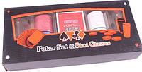 Набор для игры в пьяный покер 100 фишек 2 рюмки Duke PG22100
