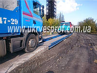 Автомобильные весы бесфундаментные 8 метров 40 тонн