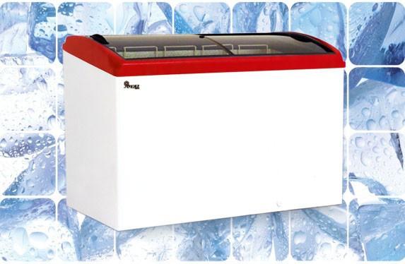 Морозильный ларь с гнутым стеклом M500 S