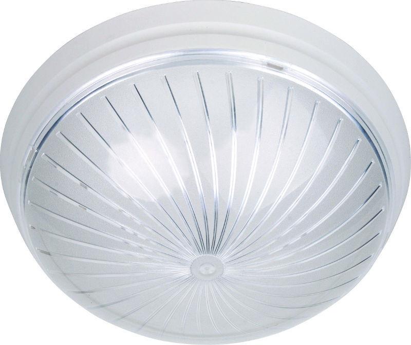 Настенный и потолочный светильник пластиковый 1 лампа Е27 Уфо Загреб
