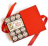 """Сувениры для мужчин на день ангела. Подарочный набор конфет """"С Днем Ангела"""", фото 1"""