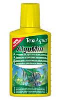 Tetra Aqua AlguMin - средство в жидкой форме для предупреждения возникновения водорослей в аквариуме (100 мл)