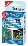 Tetra BIOCORYN - Кондиционер с ферментами, предназначенный для борьбы с нарушением биологического равновесия в пресноводных и морских аквариумах (24