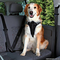 Шлея транспортировочная для собак Trixie Dog Protect Safety Harness L (65–80 cm, 25 mm) (12857)