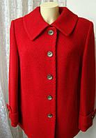 Пальто демисезонное шерсть качество! р.50 7325, фото 1