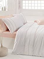 Турецкое постельное бельё с вышивкой Cotton Box Alone Pembe CB07
