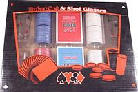 Набор для игры в пьяный покер 200 фишек 4 рюмки Duke PG42200