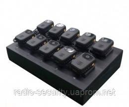 Зарядна станція, сервер для портативних камер поліції серії R