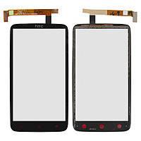 Тачскрин сенсорное стекло для HTC One X+ S728e black