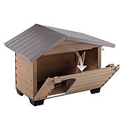 Ferplast (Ферпласт) деревянная Будка для собак CANADA 2
