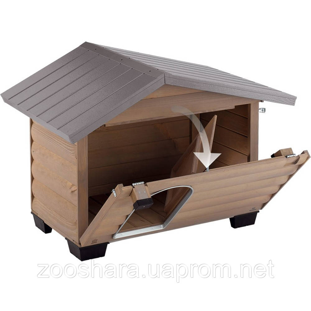 Ferplast (Ферпласт) деревянная Будка для собак CANADA 4