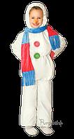 Прокат карнавального костюма Cнеговик