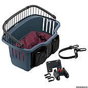 Ferplast ATLAS BIKE 20 RAPID Корзина для перевозки домашних животных на велосипеде, 47 x 35,5 x h 34,5 см.