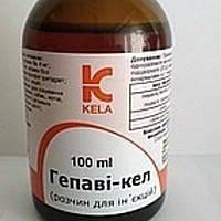 Kela Гепави-кел - витаминный стимулятор, гепатопротектор, 100 мл