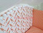 Комплект постельного бнлья Asik Коралловые птицы с помпонами 8 предметов (8-254), фото 9