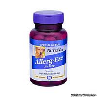 Nutri-Vet ДЛЯ АЛЛЕРГИКОВ (Allerg-Eze) добавка при аллергии собак, 60 табл.