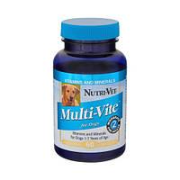 Nutri-Vet МУЛЬТИ-ВИТ (Multi-Vite) комплекс витаминов и минералов для собак, 120 табл.