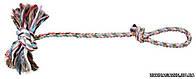 Trixie Игрушка для собак Веревочный аппорт с ручкой, 270гр/70см
