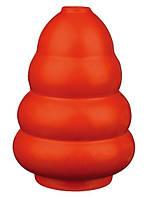 Trixie Игрушка из натурального каучука для собак груша одноцветная литая, 10 см.