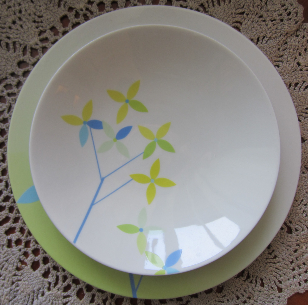 Тарелка суповая Allure Форест