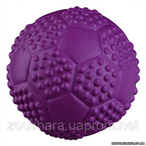 Trixie Резиновый спортивный мяч с пищалкой игрушка для собак, o 7 см.