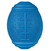 Trixie Резиновая игрушка для собак мяч-регби, 10 см.