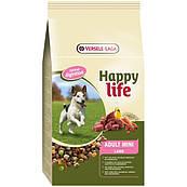 Happy Life МИНИ с ягненком 10кг(Adult Mini Lamb) сухой премиум корм для собак