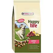 Happy Life ВЗРОСЛЫЙ с ягненком 15кг (Adult Lamb) сухой премиум корм для собак