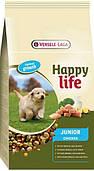Happy Life ЮНИОР с курицей 10кг (Junior Chicken) сухой премиум корм для щенков