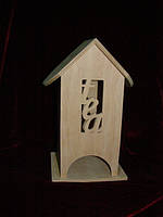 Домик коробка для чайных пакетиков TEA (10 х 10 х 23 см)