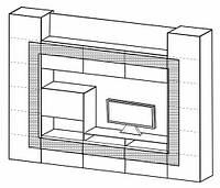 Стенка Taranko Cube CU-1