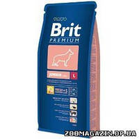 Brit (Брит) Junior Large , сухой корм для щенков с курицей (15 кг.)