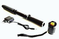 Электрошокер телескопический X10 дубинка