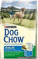 Dog Chow (ДОГ ЧАУ) Adult Large Breed с индейкой 14кг - корм для взрослых собак весом больше 25 кг