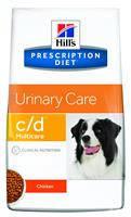 HILL'S (Хилс) Prescription Diet Canine c/d - лечебный корм для собак, профилактика и лечение мочекаменной боле