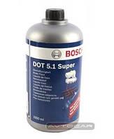 Тормозная жидкость BOSCH DOT 5.1 ✔ 1 л.