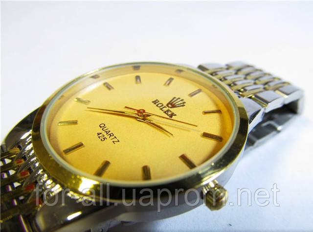 Мужские кварцевые часы Rolex на браслете купить от
