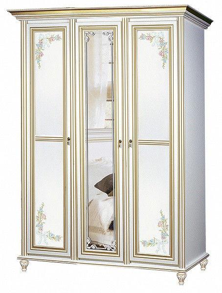 Шкаф 3-х дверный Принцесса Скай